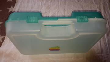 IMac Bondi blue Plastikkoffer
