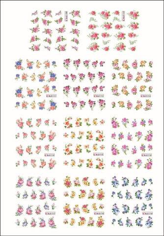 Nail Sticker von BLE 1 Bogen *** NEU ***