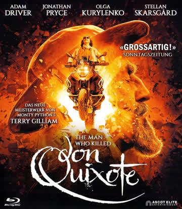 The Man Who Killed Don Quixote Blu-ray Deutsch/Englisch