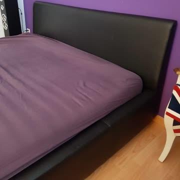 Leder-Bett zu verkaufen (Möbel Pfister)