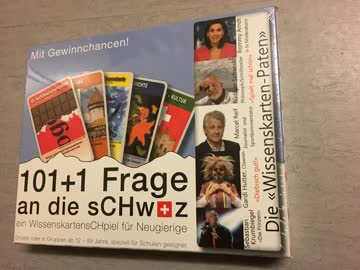 """""""101+1 Frage an die Schweiz"""" Gesellschaftsspiel 12 - 99 J."""