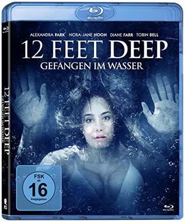 12 Feet Deep - Gefangen im Wasser, 1 Blu-ray