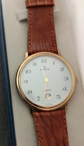 Neue Edox Uhr