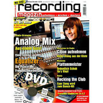 Recording Magazin 6 2010