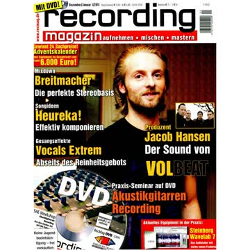Recording Magazin 1 2011