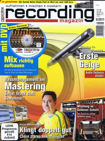 Recording Magazin 5 2011
