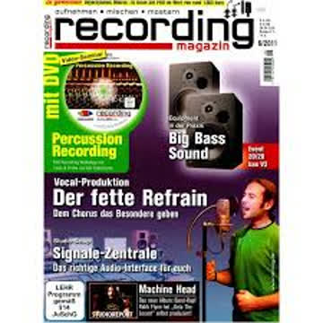 Recording Magazin 6 2011