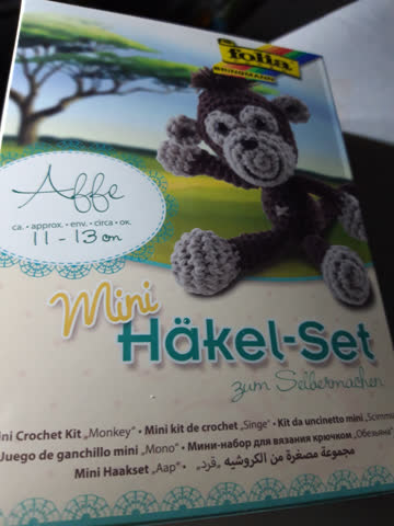 Folia Mini Häkel - Set Affe