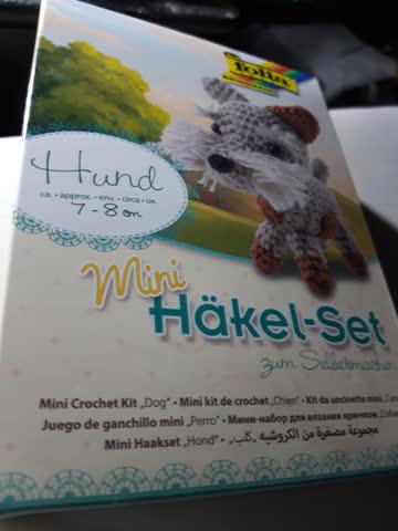 Folia Mini Häkel - Set Hund