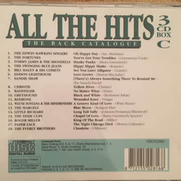 All the hits CD 1