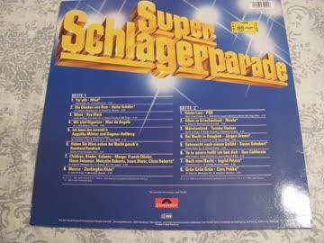 Super Schlagerparade, LP aus dem Jahr 1985