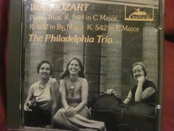 W.A.Mozart, The Philadalphia Trio, KV 548, KV 502, KV 542