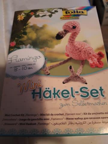 Folia Mini Häkel - Set Flamingo