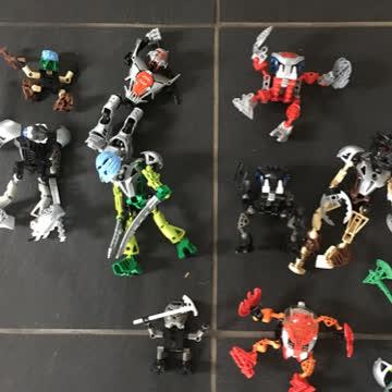 Lego Bionicle - 13 Verschiedene Figuren