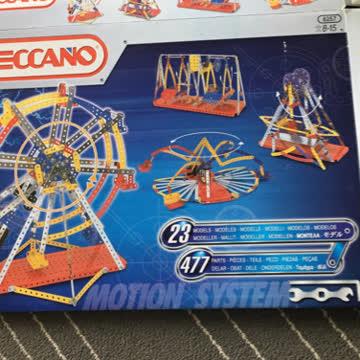 Mecano - Meccano - Bausatz - 23 Modelle
