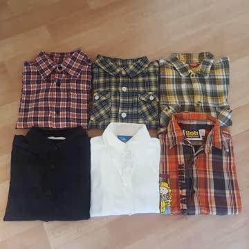 6 Hemden Gr. 104