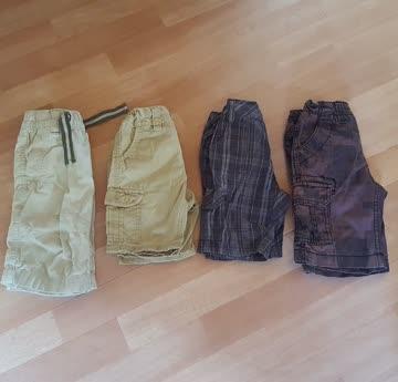 4 kurze Hosen Gr. 104
