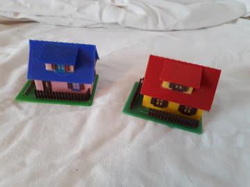 2 Häuschen, Massstab H0