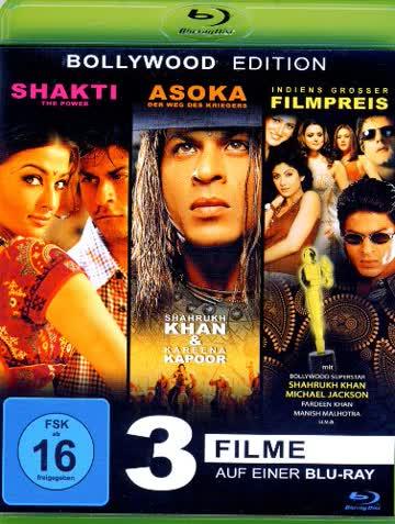 Shahrukh Kahn: 3 Filme [Blu-ray]