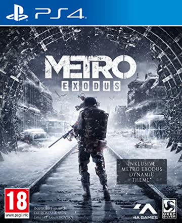 Metro Exodus [Day One Edition] - [PlayStation 4] [AT-PEGI]
