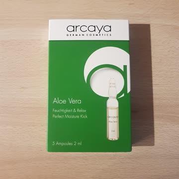 Arcaya Aleo Vera Feuchtigkeit und Relax