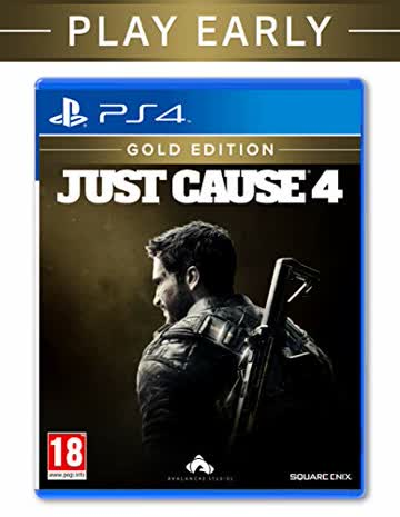 Square Enix - Just Cause 4 - Gold Edition /PS4 (1 GAMES)