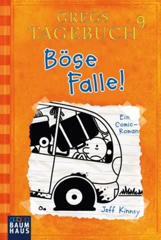 Gregs Tagebuch 9 - Böse Falle!: Gregs Tagebuch 9 .