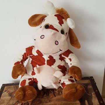 Kuh aus Stoff