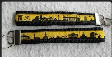 Dortmund Schlüsselband Skyline