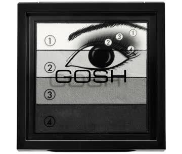 Lidschatten Smokey Eyes Palette von Gosh