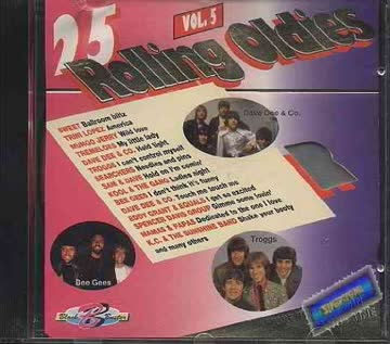Various - 25 Rolling Oldies Volume5 (UK Import)