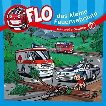 Flo, das kleine Feuerwehrauto: Das Große Gewitter - Flo (7)