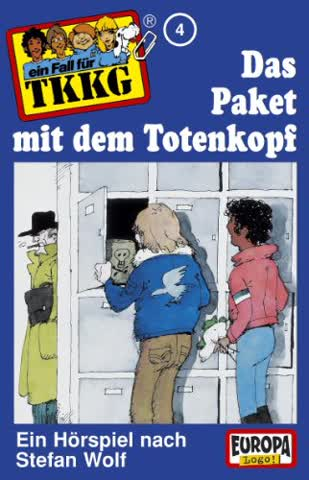 Ein Fall für TKKG, Folge 004 - Das Paket mit dem Totenkopf (MC)