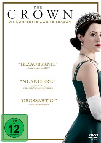 The Crown - Die komplette zweite Season [4 DVDs]