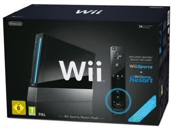 Nintendo WII Sports Resort Pack Black, 2100590