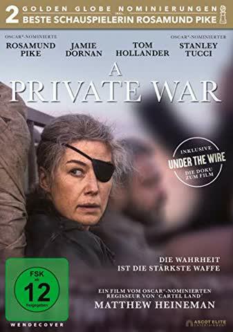 A PRIVATE WAR - MOVIE [DVD] [2018]