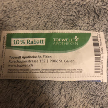 Topwell Apotheke Gutschein 🤧