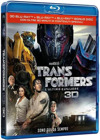 Transformers: The Last Knight [Blu-ray 3D] [IT-Import]