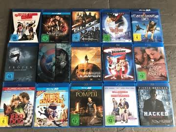 Top Blu-ray Sammlung inkl. diversen 3D-Ausgaben VERSAND!