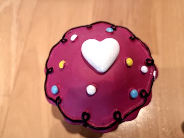 Küchen KURZZEITMESSER Analog 60Min Muffin PINK TOP!!!!!!!!!!
