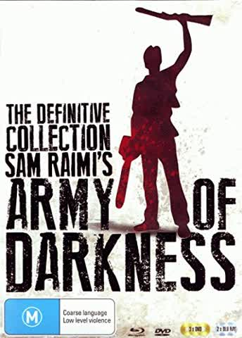 Army of Darkness: The Definitive Collection (2 Blu-rays + 3 DVDs)(Australien-Import)