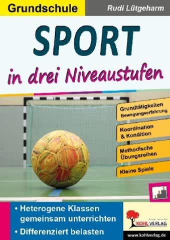 Sport in drei Niveaustufen