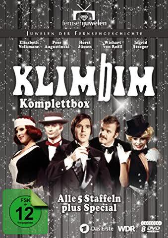 Klimbim - Komplettbox (Alle 5 Staffeln plus Special) - Fernsehjuwelen [8 DVDs]