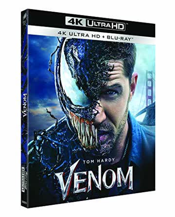 Venom 4k ultra hd [Blu-ray] [FR Import]