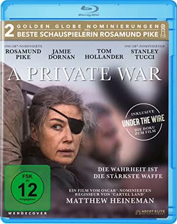 A PRIVATE WAR - MOVIE [Blu-ray] [2018]