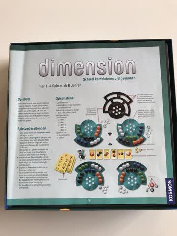 Dimensions Brettspiel