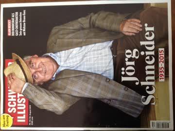 Schweizer Illustrierte Nr. 35 vom 28. August 2015