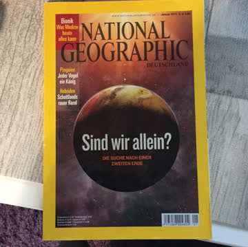 National Geographic Januar 2010
