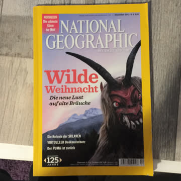 National Geographic Dezember 2013