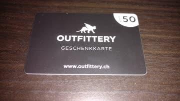 50 Franken Gutschein für Outtfitery / Erstbestellung